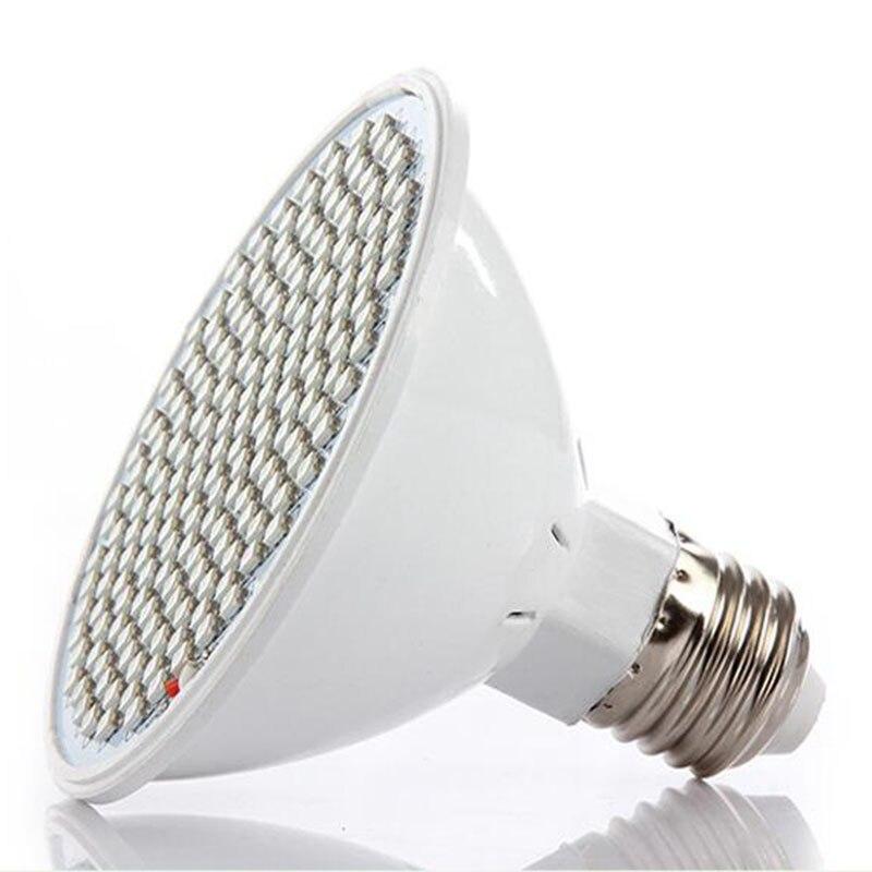5 st 200 LED växer ljus inomhus växande lampor E27 lampa för - Professionell belysning - Foto 4