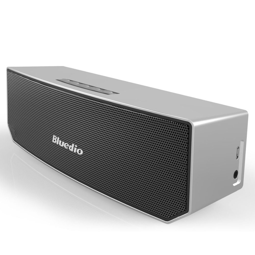 все цены на Bluedio BS-3 (camel) Mini Bluetooth Speakers Sound System Portable Speaker 3D Stereo Music Sound Box High Quality онлайн
