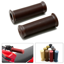 Universal Motorcycle Vintage Grips 22mm/24mm Handle Bar Hand For yamaha honda ktm CG125 accessories