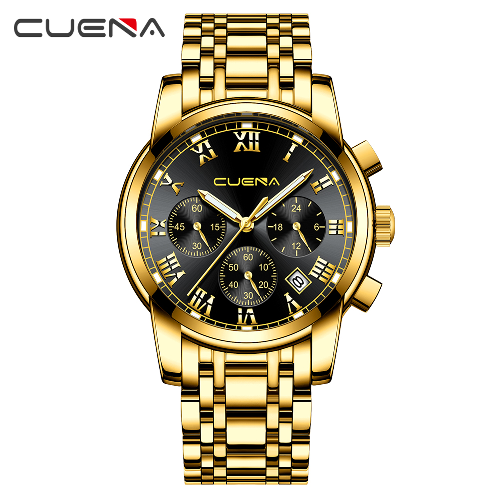 Relogio Masculino Golden Men Watches Top Luxury Brand Business Watch Man Quartz Gold Watches Clock Sports Men Wrist Watch цена 2017