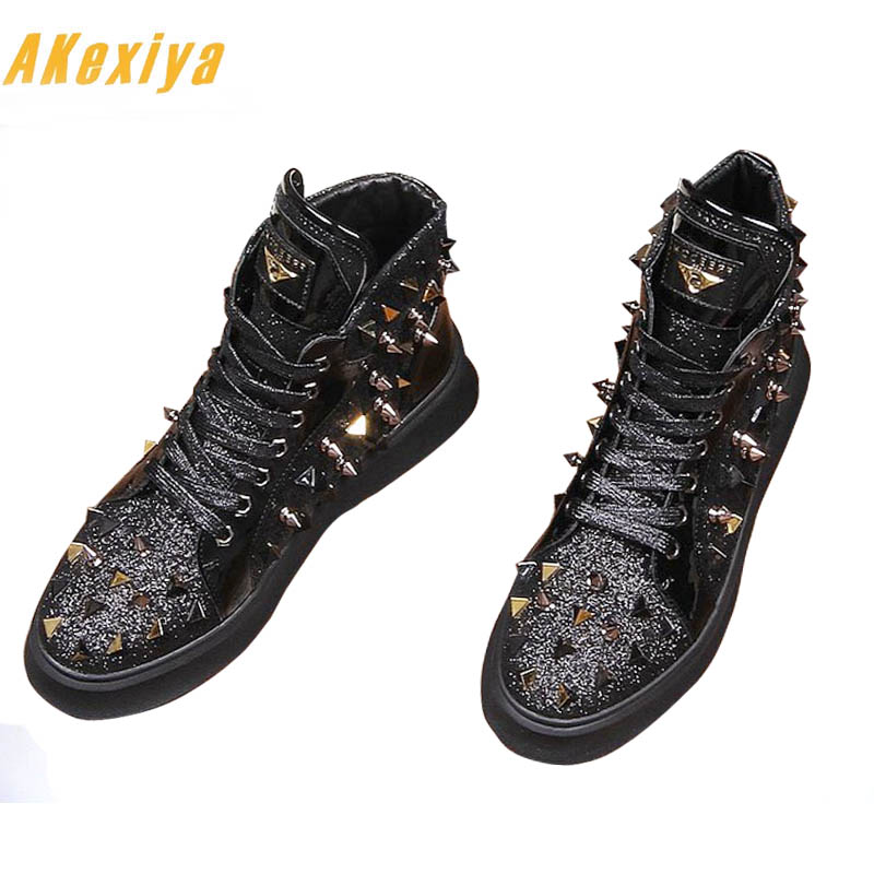 5b8b8d74bdab8 Pour Hommes 2 2018 Top Homme High Appartements Sapato Sociale Sheos De Mode  Causales Masculino Chaussures Mocassins ...