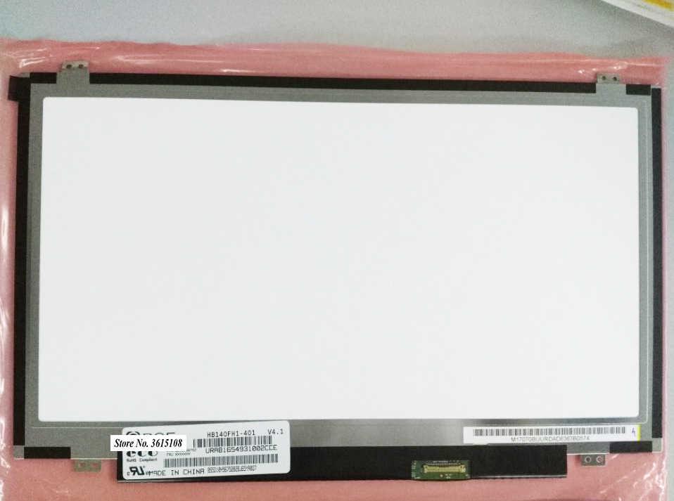 """14.0 """"BOE HB140FH1-401 V4.1 HB140FH1 401 LED LCD Ekran 14"""" eDP 30 Pins WUXGA Mat FHD Ince 1920X1080 Dizüstü Bilgisayar Matrisi"""