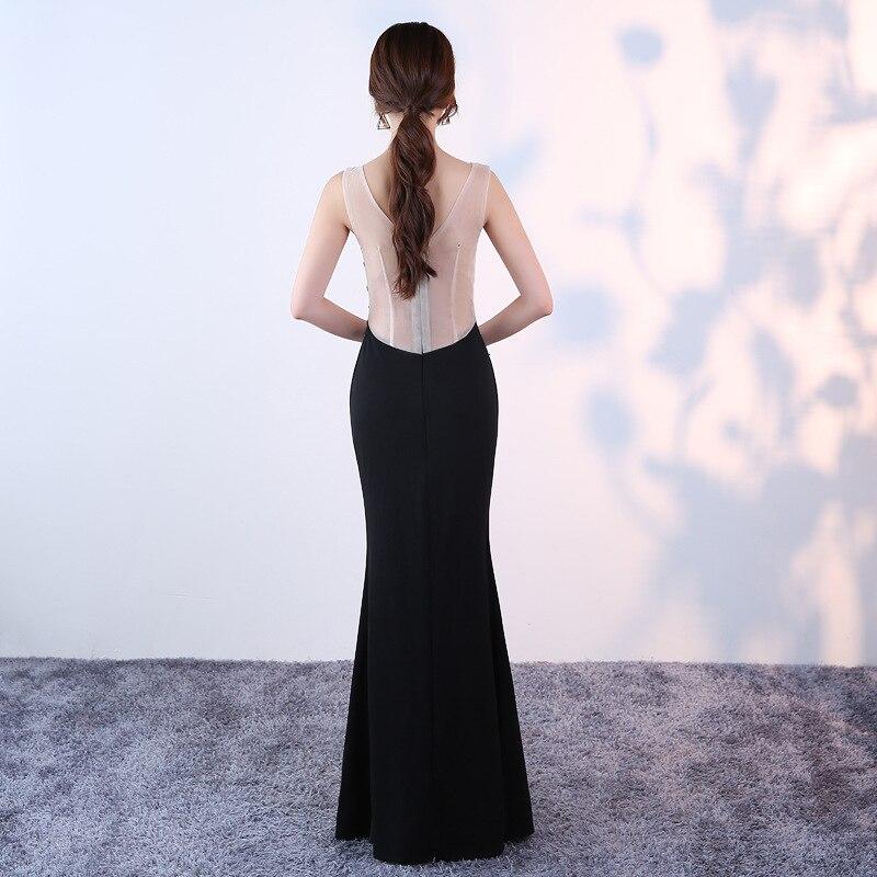 KTV nachtclub avondjurk lange sexy v hals fishtail jurk vrouwelijke nachtclub miss pr 2018 nieuwe aliexpress uk - 3