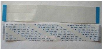 цена на Free shipping NEW FFC/FPC Flex Ribbon Power Cable AWM 20624 80C 60V 150mm 18pin 1.0mm pitch