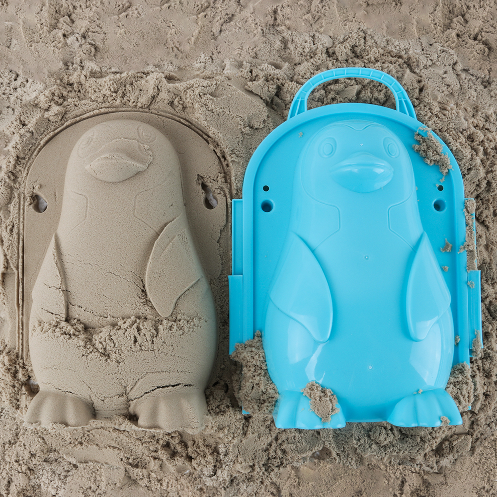 Beach Sand Game 3D Cartoon  Mold Beach Snow Sand Model Children's Model Toys Children Outdoor Beach Playset