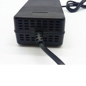 Image 3 - Chargeur de batterie 58.8V 3A pour 14S 48V Li ion batterie vélo électrique chargeur de batterie au lithium de haute qualité forte avec ventilateur de refroidissement