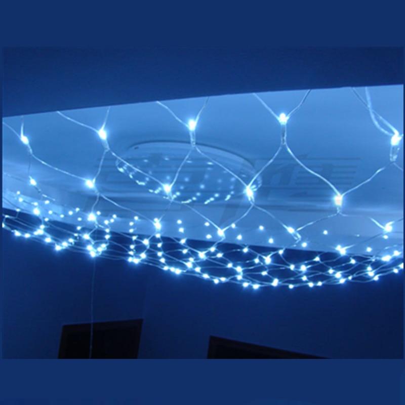 M led v super bright net string light