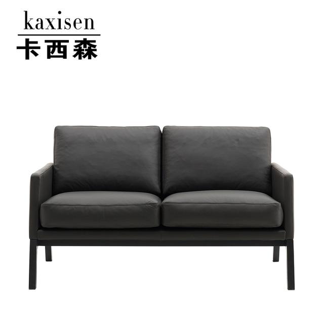 Ka Xisen Modern Minimalist Scandinavian Style Designer Lounge Chairs  Reception Neoclassical Wood Sofa Sofa Chair