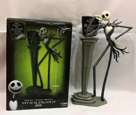 The Nightmare Before Christmas Jack Skellington 25th Years Model Figure Toys
