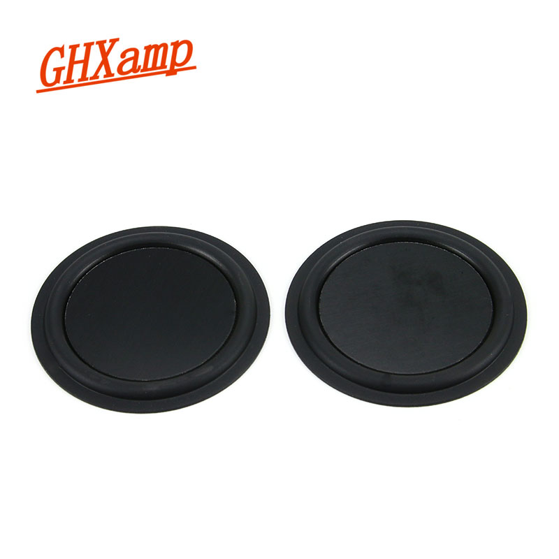 GHXAPM 2PCS 3.5 inch Low Frequency Bass Radiator Vibration Plate DIY Bass Passive Auxiliary For KLIPSCH Bluetooth Speaker DIY