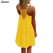 Women Beach Dress Fluorescence Female Summer Chiffon Voile Fashion  Dresses Sexy Clothing Plus Size