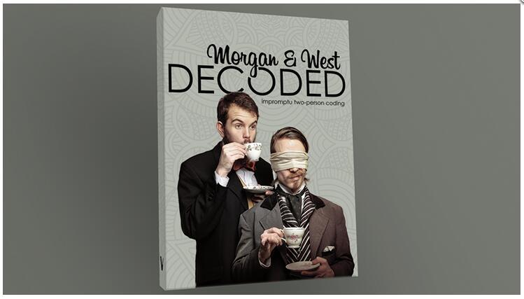 Decoded by Morgan and West magic tricks bravura by paul daniels magic tricks