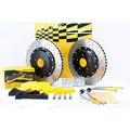 Автомобильные аксессуары Дракон щелевой Дизайн дисковые тормоза гальванические роторы для Peugeot 407 система переднего тормоза