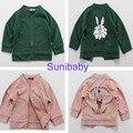 2016 дети бобо выбирает куртка ребенок кролик plam маг печатных пальто для мальчиков девочек детей детские куртки vestidos манто fille