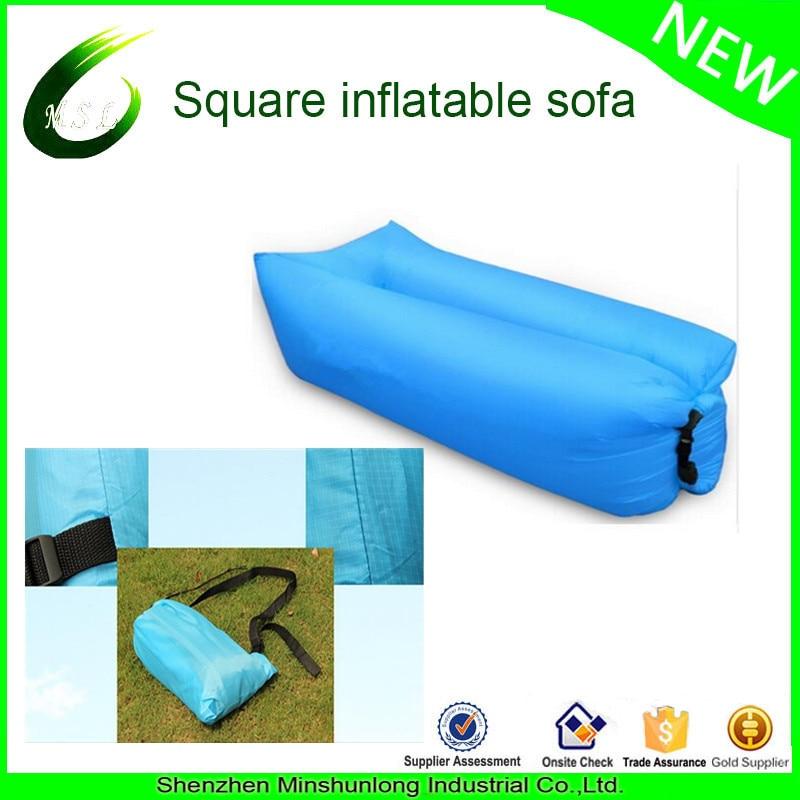Outdoor Air Sofa Laybag Inflatable Air Sleeping Bag Hiking Camping Chair  Beach Sofa Lounge Banana Lazy