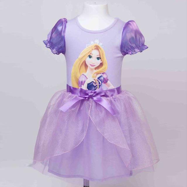 Moda 1 año de cumpleaños baby girl infantil blancanieves tutu vestido