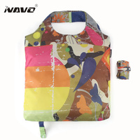 NAVO Eco Shopping Bags Foldable Reusable Grocery Bag Polyester Shoping Bags Fashion Designer Casual Tote Bag