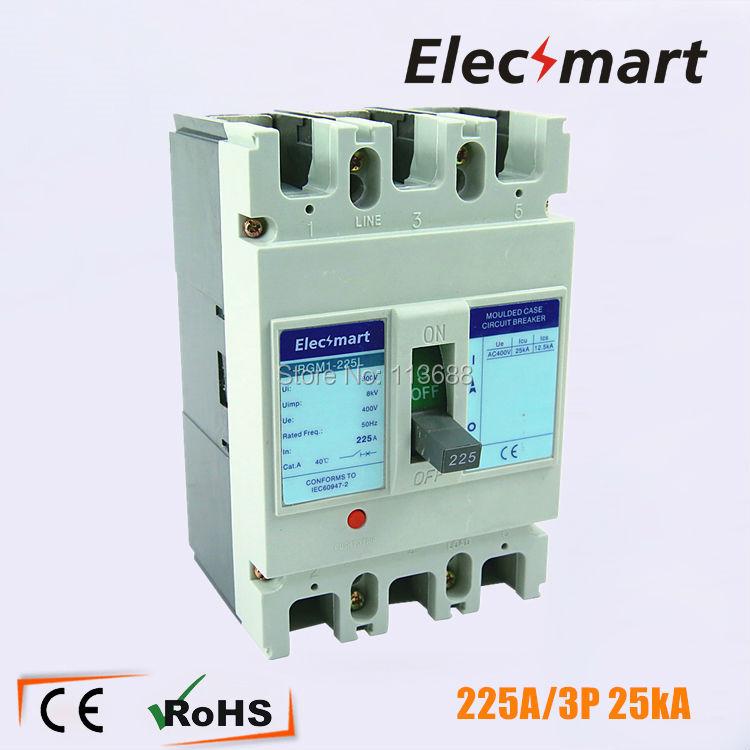 250A 3P moulded case circuit breaker Icu 25kA mccb russia type 400 amp 3 pole cm1 type moulded case type circuit breaker mccb