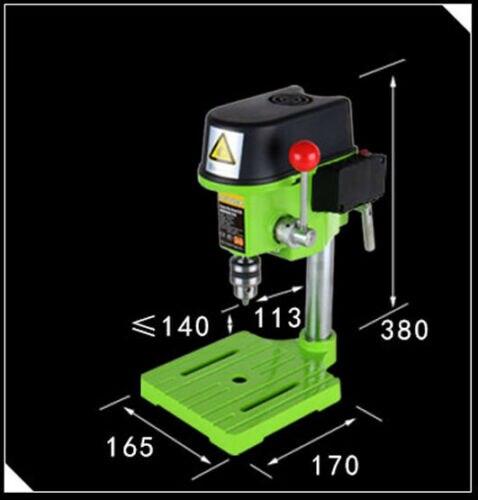 480W High speed Mini präzision Bench Bohrer Bohren fräsen maschine w/Werkbank
