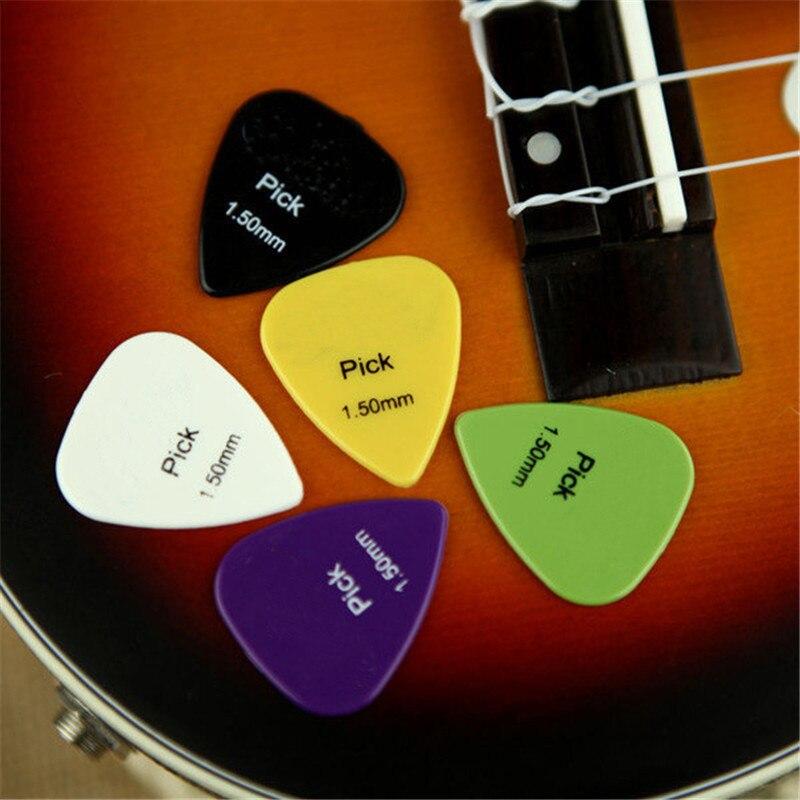 50 unids selecciones de la guitarra accesorios del instrumento musical de la Gui