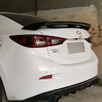 High quality ABS material spoiler For Mazda 3 M3 Axela 2014 to 2018 year spoiler Primer or any color for Mazda 6 Axela