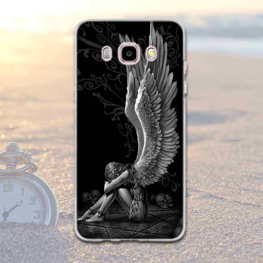 Mjukt TPU-tryckt fodral för Samsung Galaxy J5 2016 J510 J510F - Reservdelar och tillbehör för mobiltelefoner - Foto 3