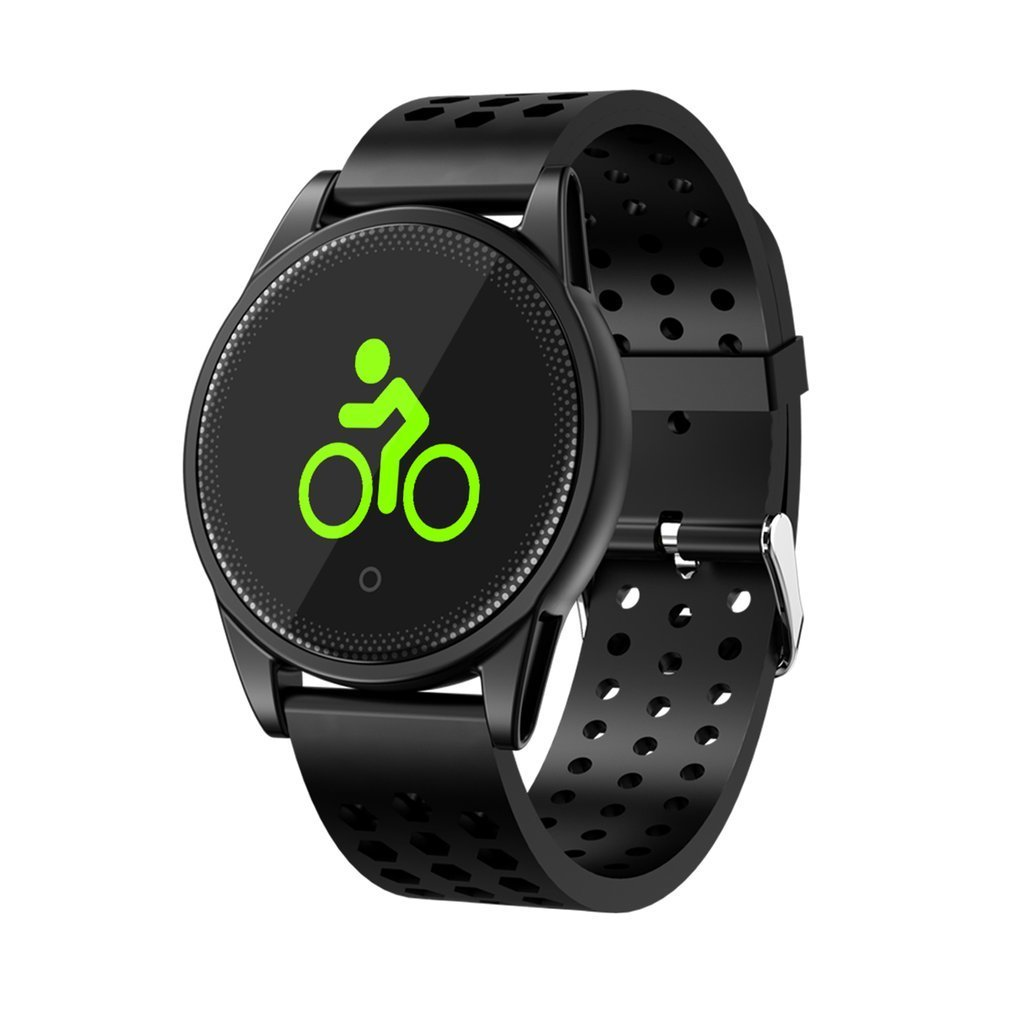 LCD Display Smart Wrist Watch Intelligent Bracelet Real-time Heart Rate Monitor Sports Tracker Sleep Detection Calls Reminder