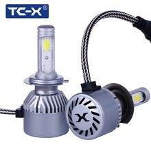 TC-X Constant Power 2.5A/12V COB LED Headlight Fog Light 880 H27 H3 H7 9006/Hb4 9005/Hb3 H4 Hi/Lo H1 9012 Main Beam Dipped Beam