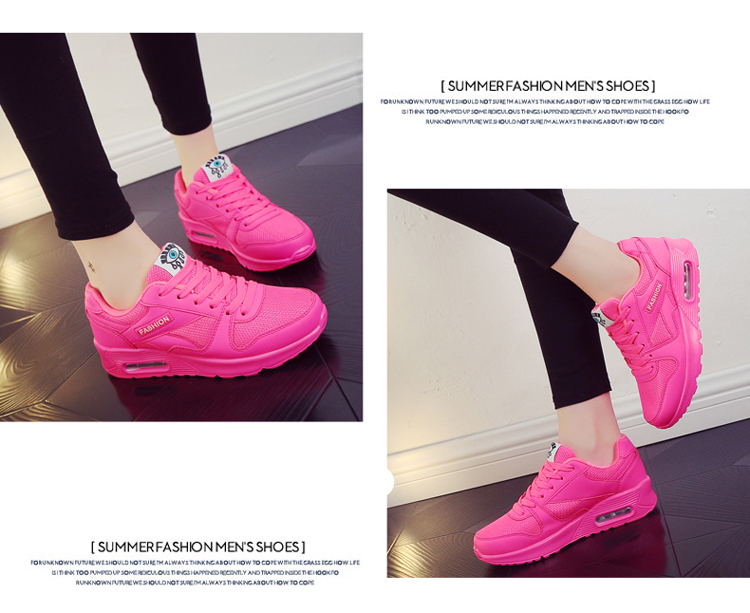 18 Fashion Sneakers Women Shoes Spring Tenis Feminino Casual Shoes Outdoor Walking Shoes Women Flats Pink Flas Ladies Shoes 32