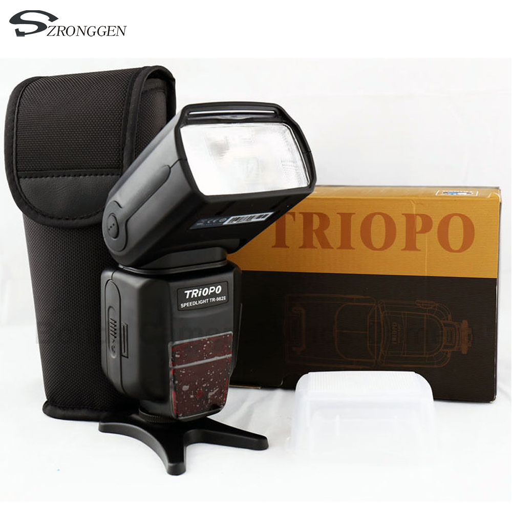 2018 TRIOPO TR 982 II Wireless Master Slave Camera Flash 1 8000 HSS Speedlite for Nikon