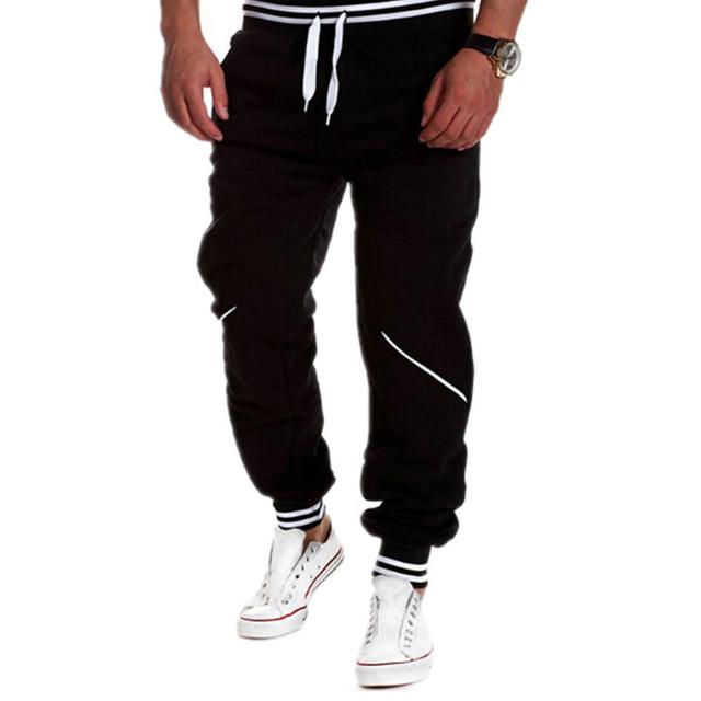 2017 Nuevos hombres de Moda Pantalones de Harén, hombres Joggers Pantalones, hombre casual hip hop pantalones pantalones deportivos