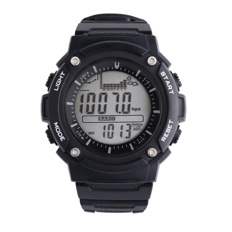 SUNROAD FR719A Digital Fishing Men&Women Watch-Outdoor Digital Watch  Fishing Altimeter Barometer Thermometer Clock Men