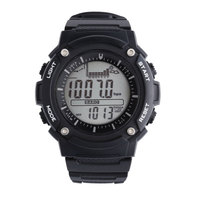 SunRoad FR719A Digital Watch Men Watches Outdoor Digital Watch Clock Fishing Altimeter Barometer Thermometer