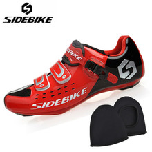 Sidebike Men Cycling Shoes men Professional Bike Shoes Breathable Self-locking Bicycle Boots Non-slip Shoes Zapatillas ciclismo