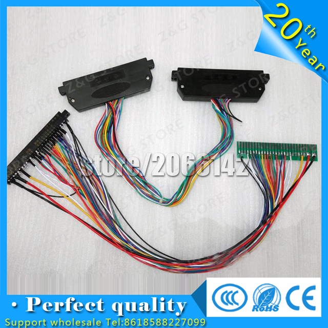 aliexpress com buy jamma extension lines to 28p jamma gold