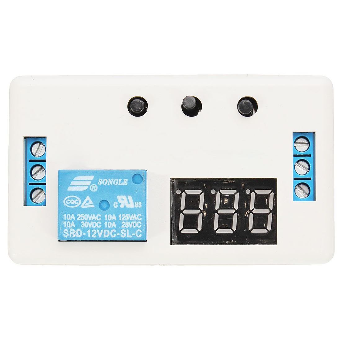 New 12V LED Automation Delay Timer Control Switch Relay Module with case smart 30s timer delay switch us