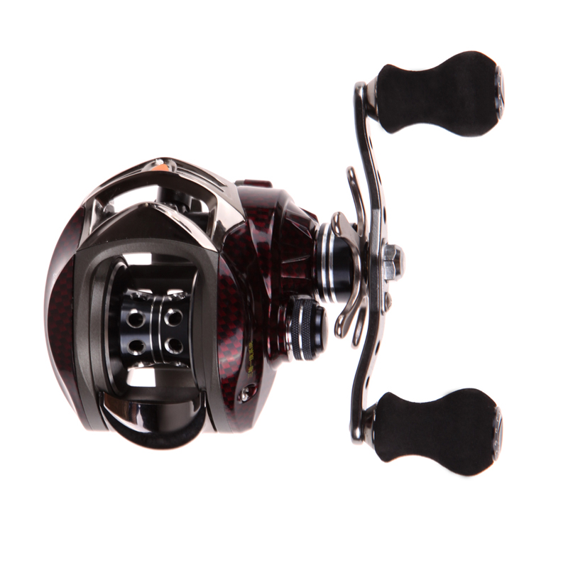18+1BB Left Right Hand Baitcasting Fishing Reel 7.0:1 Bait Casting Fishing Wheel With Magnetic Brake Carp Carretilha Pesca abu garcia revo3 sx hs hs l 10bb 7 1 1 bait casting reel super smooth low profile water drop wheel left right hand max drag 9kg