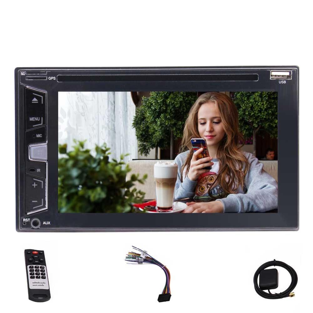 EinCar 6 2 Double 2 Din Car Stereo Car DVD Player GPS Navigation 1080P Touch Screen