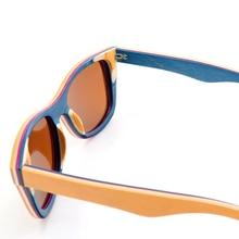 Polarized Skateboard Wooden Sunglasses