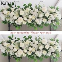 100cm and 50cm custom artificial flowers for wedding wall arrangement supplies silk peonies fake flower row arch backdrop decor