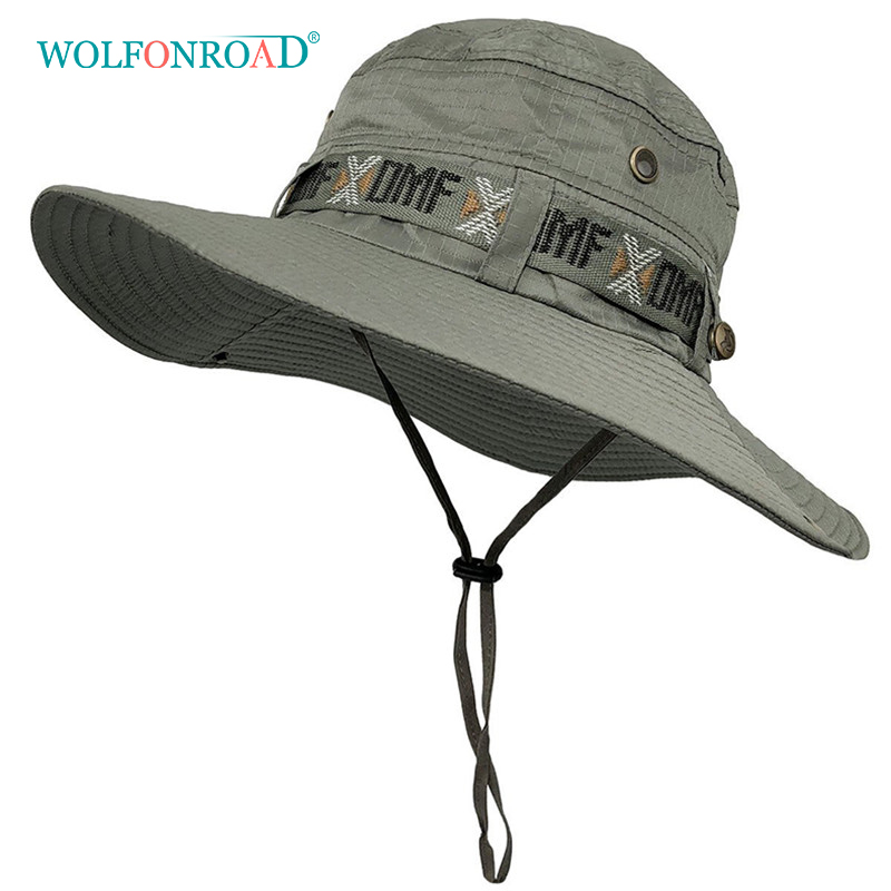 WOLFNROAD Army Style Fishing Hat 2