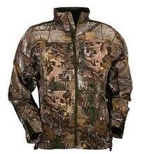 Мужские камуфляжные охотничьи куртки, спортивное уличное пальто, мужская флисовая куртка, Мужская охотничья одежда, термо быстросохнущая, размера плюс L-4XL