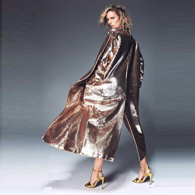 Golden Coat - Sequin - 4 Sizes 5