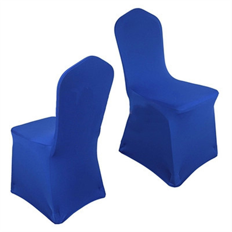 blue spandex chair covers diy bean bag filling royal china for weddings decoration party banquet dining cr001730531 in cover from home garden