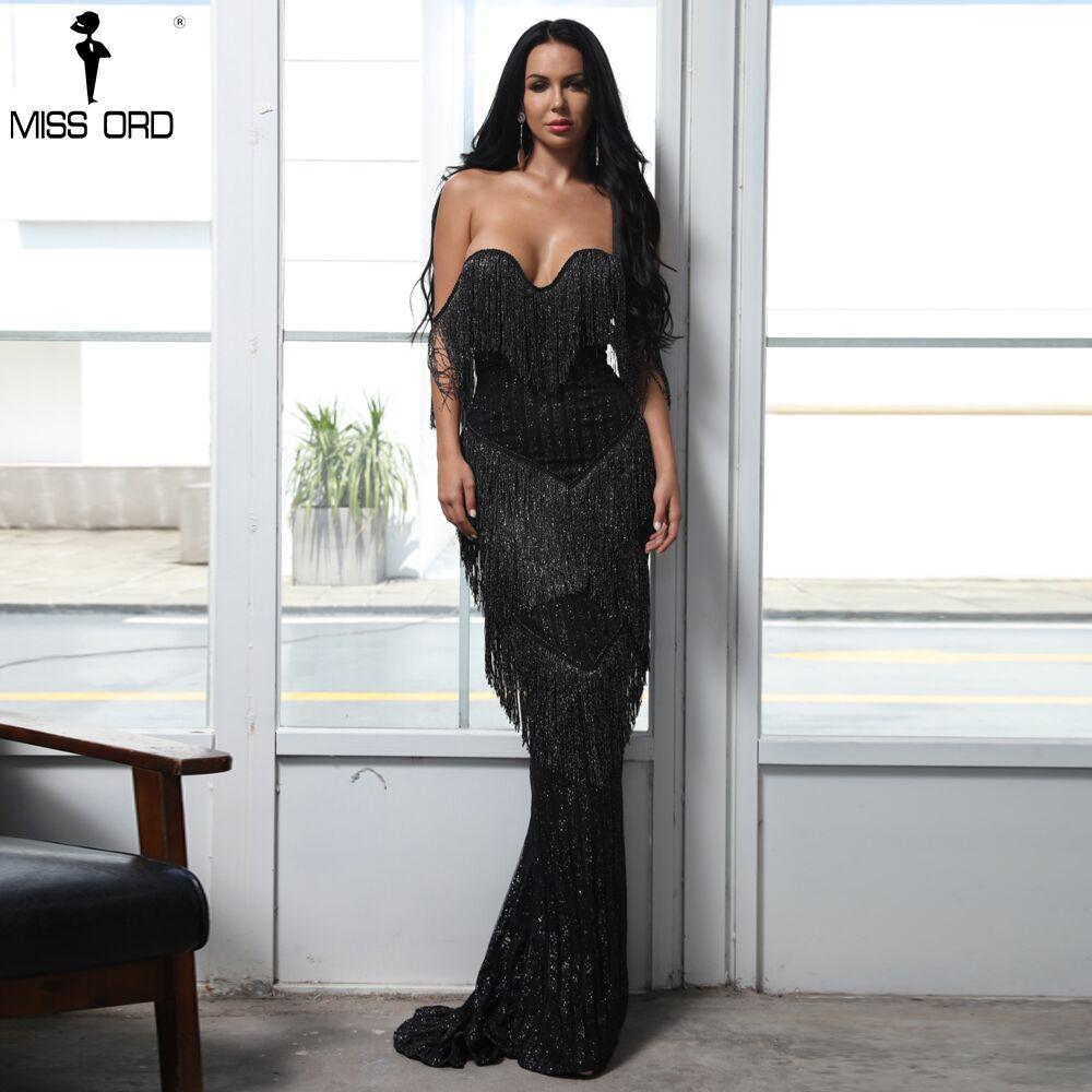 Missord 2019 Sexy Bra Off Shoulder Backless Dresses Female
