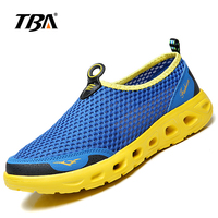 2019 TBA Summer Men Running Shoes Man Large Size Walking Shoes Male Breathable Sneakers Sports Hole Light Couple Running Shoes