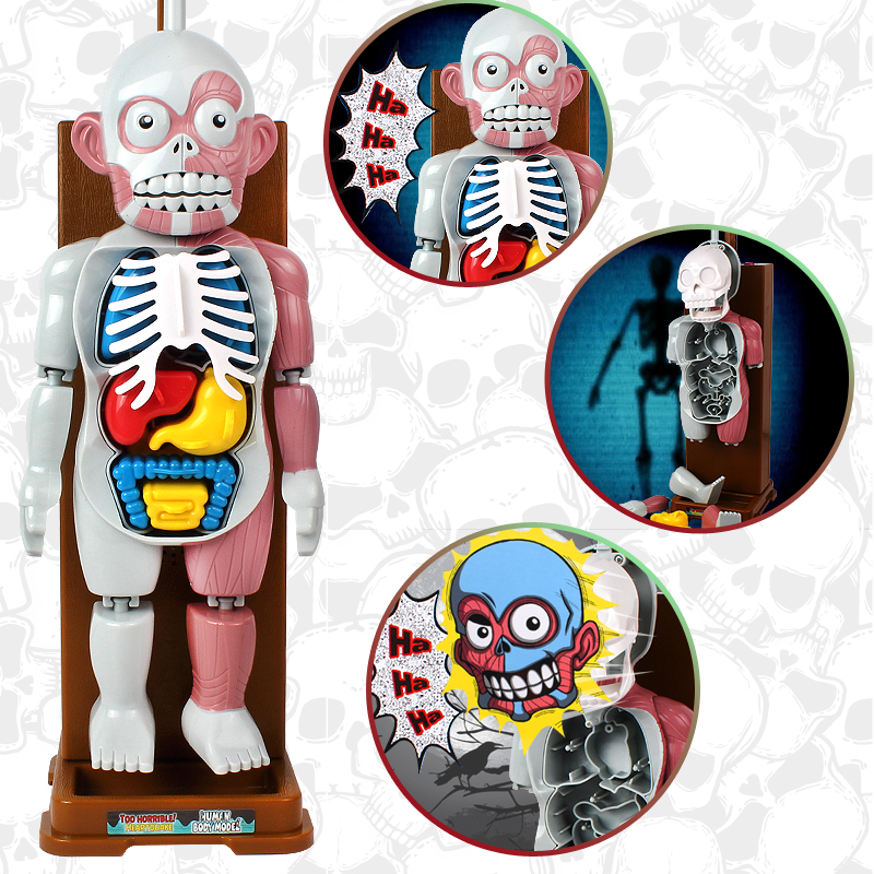 Spiele Weihnachtsfeier.Us 18 39 8 Off Neuheit Geschenke Lustige Gag Spielzeug Simulation Der Menschlichen Scary Spielzeug Weihnachtsfeier Spiel Organe Montiert 3d Puzzle