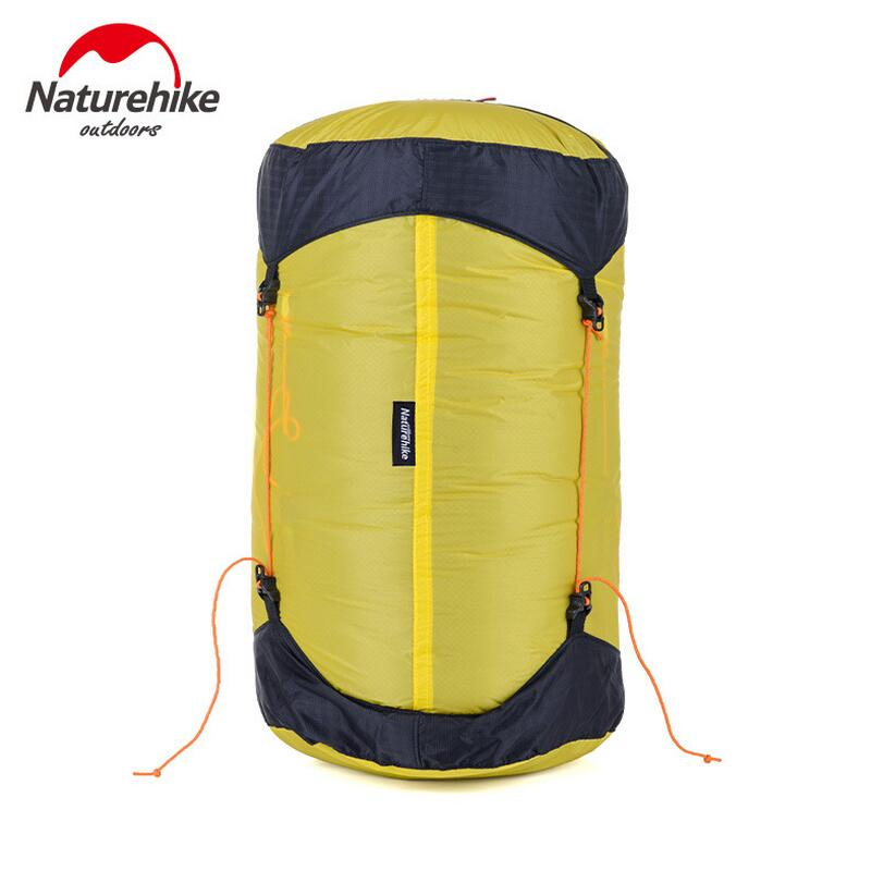 Naturehike Ultralight Sleeping Bag Compression Bags Packages 20D Coated Silicon Waterproof Storage Bag Stuff Sack