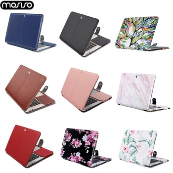 MOSISO PU Laptop Bag Case For Macbook Air 13 A1466 Pro Retina 11 12 13 15 Notebook Laptop Case Cover For Mac Air Touch ID A1932 laptop bag for macbook air 13 2018 model a1932 model laptop case sleeve cover for macbook air 13 3 mac a1369 a1466 notebook case