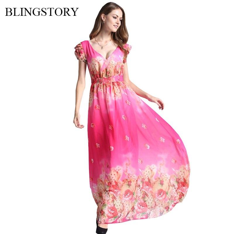 ②Blingstory europeo y americano V collar Womens Plus size Fashions ...